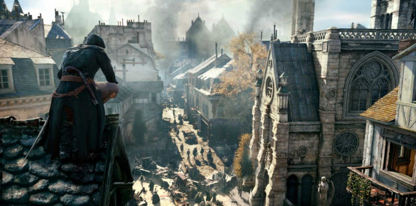 "Image tirée du jeu ""Assassin's Creed Unity"""