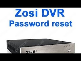 ZOSI DVR RESET WITH MOUSE