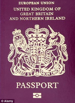 European Union United Kingdom Of Great Britain And Northern Ireland Chipped Passport