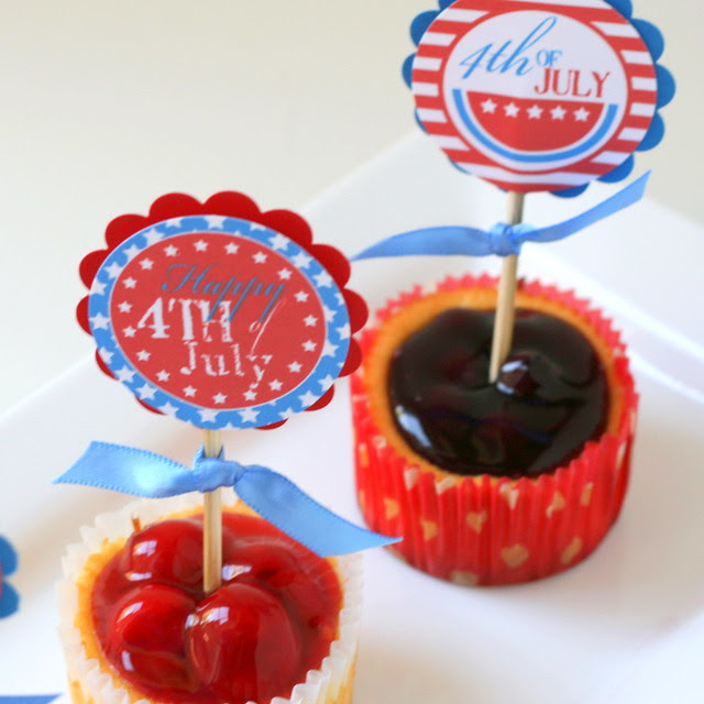 4th of July Toppers