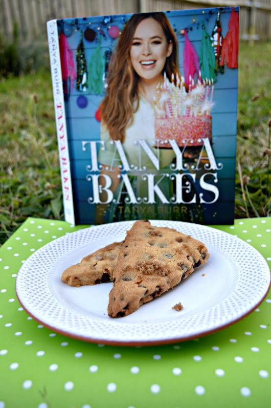 Tanya Bakes and Chocolate Chip Shortbread
