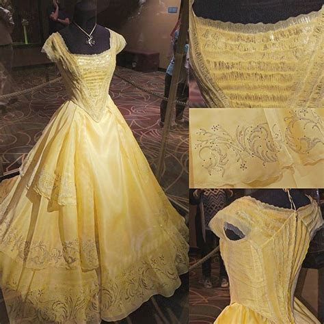 The yellow dress of the Beauty and the Beast live action