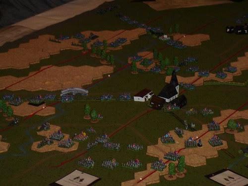Main battle lines