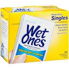 Wet Ones Antibacterial Hand Wipes, Citrus - 24 count