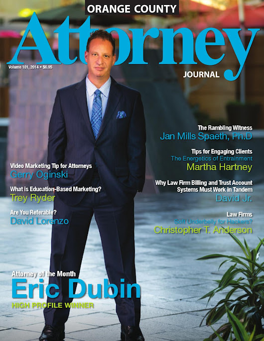 Attorney Journal, Orange County, Volume 101