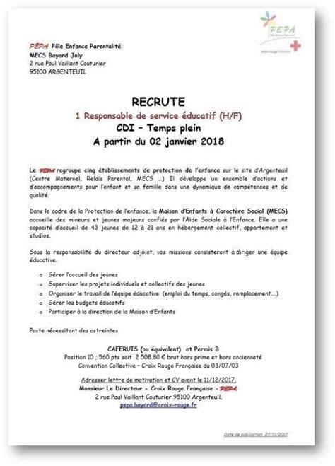 lettre de motivation directrice adjointe creche laboite