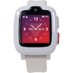 Medical Guardian - Freedom Guardian Medical Alert Smartwatch At&t - White with White Band