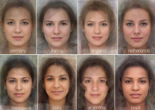 Scientists Blend Thousands of Faces Together to Reveal what the Typical Woman's Face Looks like in 41 Different Countries from Around the Globe | World Truth.TV