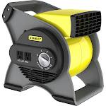 Lasko - STANLEY High Velocity Utility Fan - Yellow/Gray