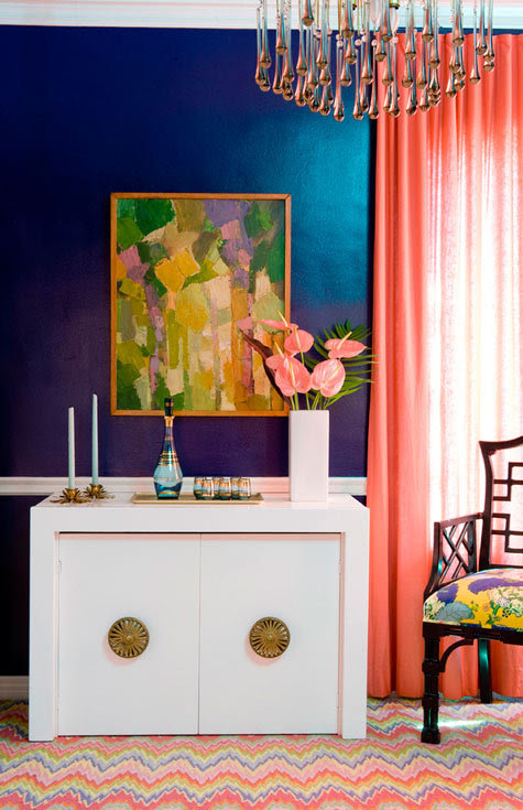 maison21:  color! by Kate Schintzius (via theaestate)