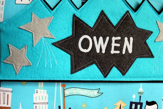 Owen's Superhero Crown