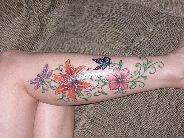 Lower Leg Tattoos For Girls 25 Exciting Leg Tattoos For Women