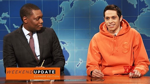 #Weekend #Update: #Pete #Davidson on #Colin #Kaepernick - #SNL  Pete Davidson discusses why Colin Kaepernick...