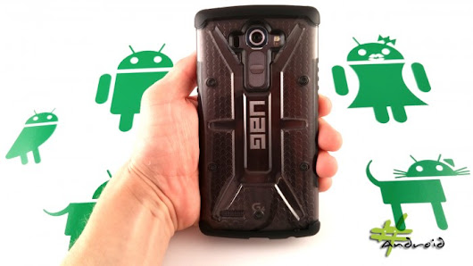 Urban Armor Gear LG G4 Case Review | #Android