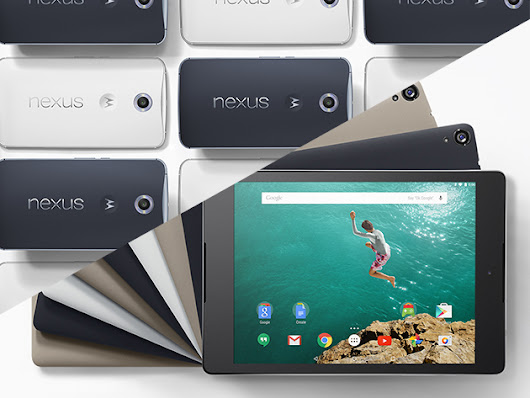 Back By Popular Demand: Win a Brand-New Nexus 6 Phone & Nexus 9 Tablet!