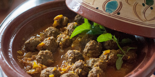Moroccan meatball tagine with lemon, or Kefta tagine - VAL EN BARCELONA, My Cooking Dairy