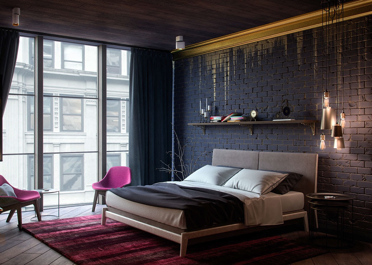 Black And Gold Bedroominterior Design Ideas
