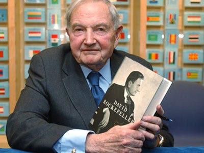 AGE 99: David Rockefeller Sr.