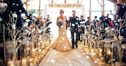10 Breathtaking Wedding Aisles - The1stClassLifestyle.com