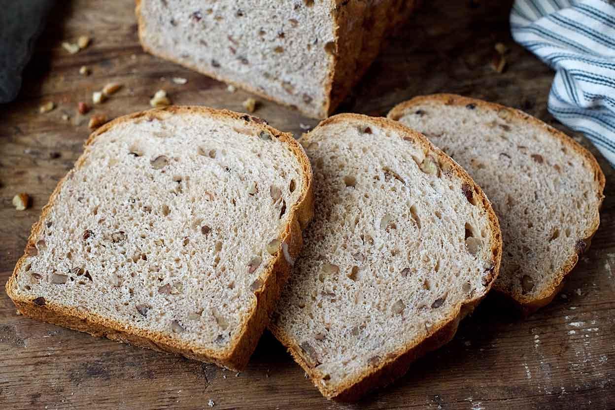 Pecan Wheat Bread Recipe | King Arthur Flour