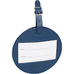 Clava Color Circle Luggage Tag - CI Navy - Luggage Accessories