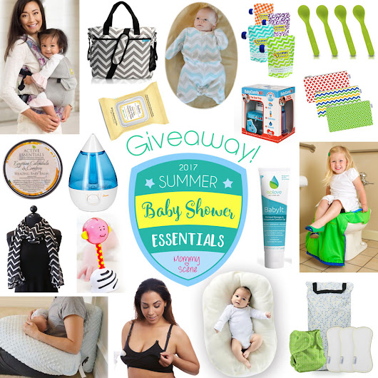 Baby Shower Essentials | A Mommy Scene Giveaway!