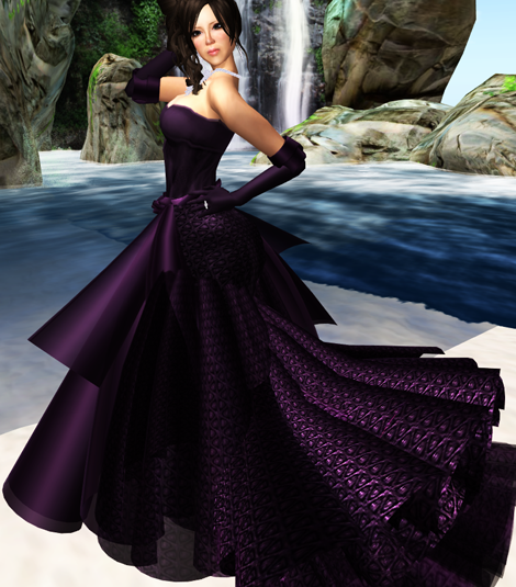 "!RP MVW 09  ""Marry"" Gown  Orchid VERSION II"