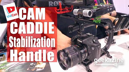 Cam Caddie Lightweight Handle Helps Stabilize Video