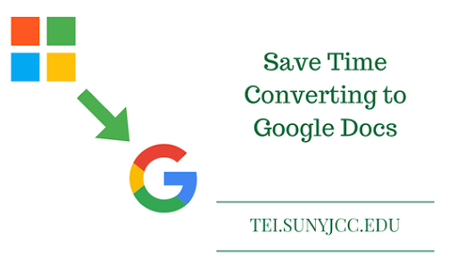 Save Time Converting to Google Docs