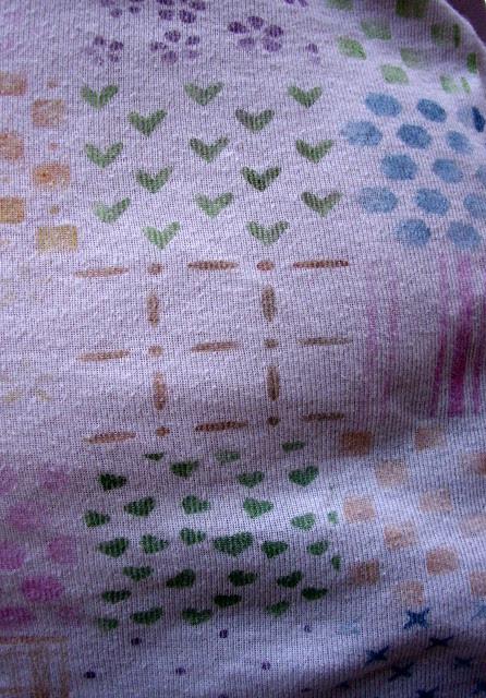 canotta patchwork dipinta a mano - part. 3