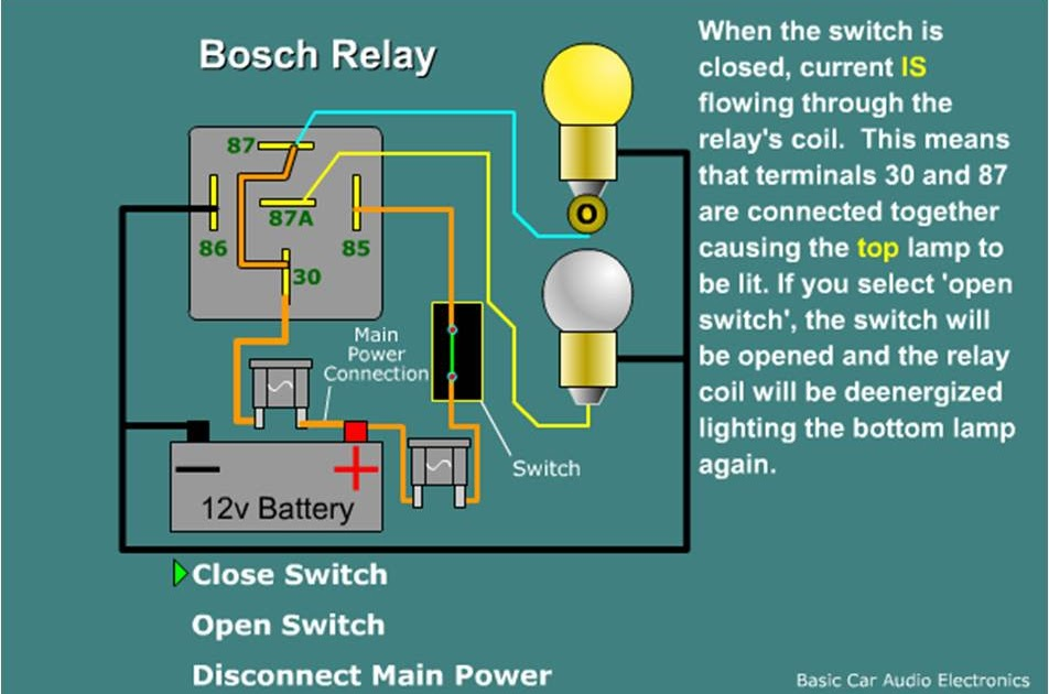 Ac Wiring Diagram Relay