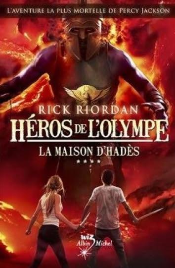 Couverture Héros de l'Olympe, tome 4
