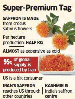 Saffron - The costliest spice on earth is always in hot demand