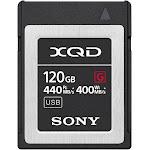Sony G-Series QD-G120F XQD 120 GB Memory Card
