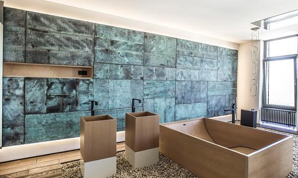 Pebble Floor Bathroom Design Ideas | Home Design, Garden ...