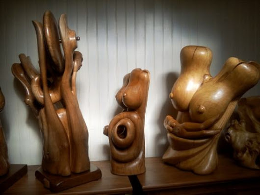 The French wood sculpture - Wood carving