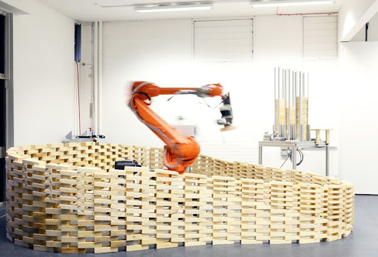 Architects Using Robots to Build Beautiful Structures - IEEE Spectrum