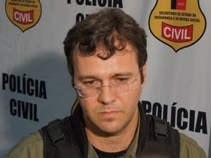 Delegado Cristiano Jacques (Foto: André Resende)