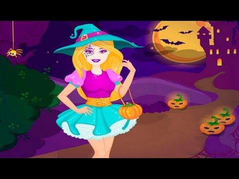 Juegos De Vestir A Barbie En Noche De Halloween Juegos De