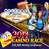 Jackpot Capital Casino Race Begins Awarding Weekly Prizes