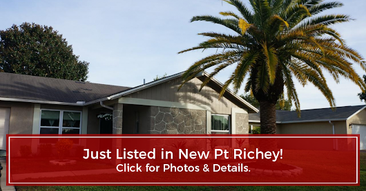 JUST LISTED! 3602 Murrow St, New Pt Richey, FL