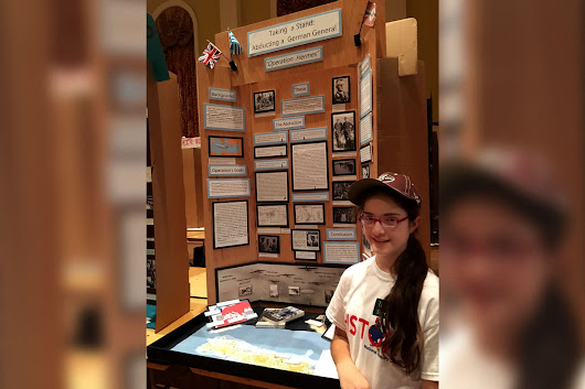 Local Student Earn Honors by Taking a Stand in History at the National History Day Contest