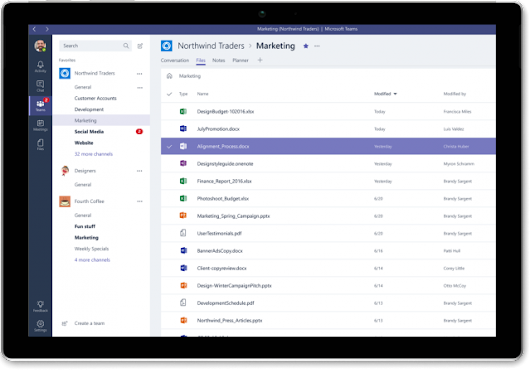 Microsoft Teams has 30,000 business customers -- but is it a serious threat to Slack yet?