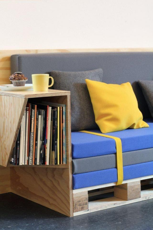 35 Pallet Furniture Ideas - Sofas, Chairs, Tables, etc ...