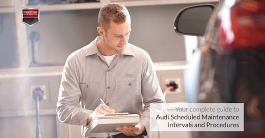 Audi Scheduled Maintenance Intervals and Procedures for Denver Drivers