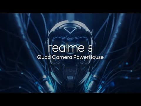إعلان Realme 5 يدعم إغنية للوطيين