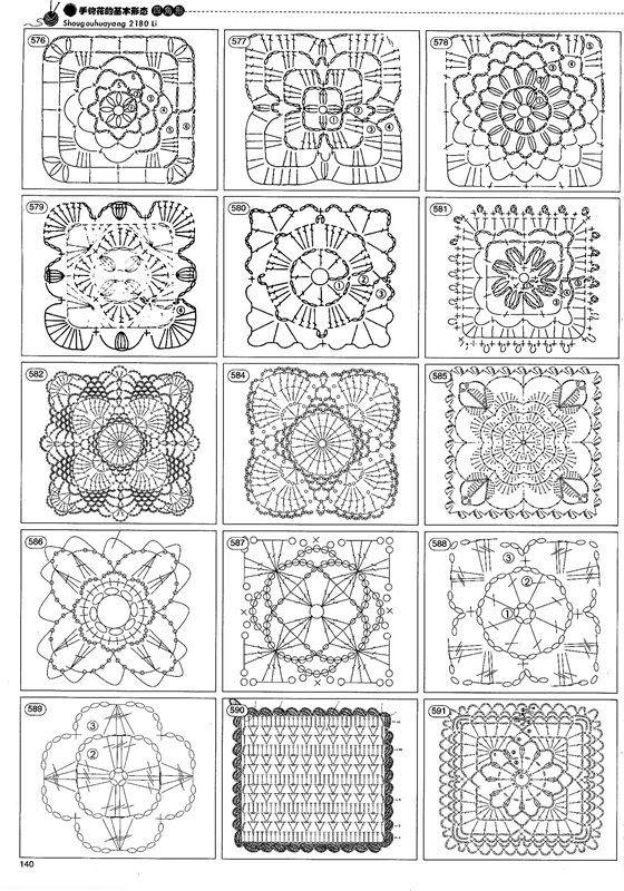 Crochet doily patterns - TONS of them