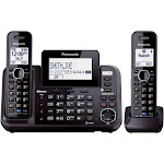 Panasonic KX-TG9552 Expandable Phone System with 2 Handsets - Black