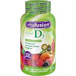 Vitafusion Vitamin D3 Gummies - Peach, Blackberry & Strawberry - 150ct