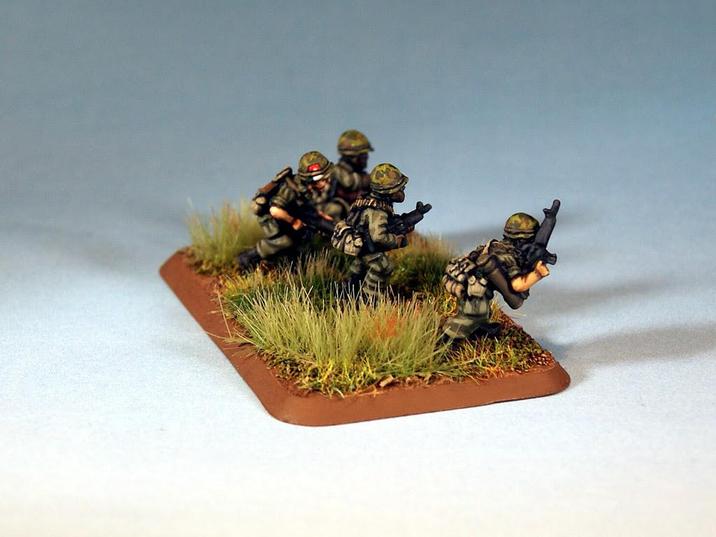 US Flames of War miniatures for Vietnam